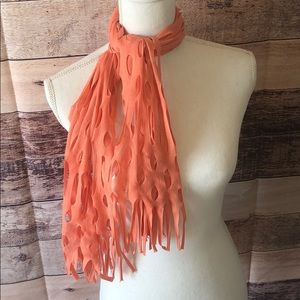 Coral Summer scarf